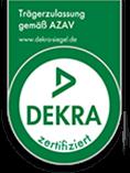 Als Bereich der HSB Personal & Service GmbH ist die HSB zugelassener Träger für die Förderung der beruflichen Weiterbildung nach dem Recht der Arbeitsförderung und über die DEKRA certification (RKW- QS-06-101) zertifiziert.